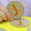 Alphabet Wooden Matching Pairs