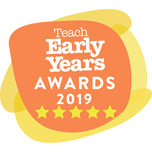 Teach Early Years Awards 5 Stars Winner