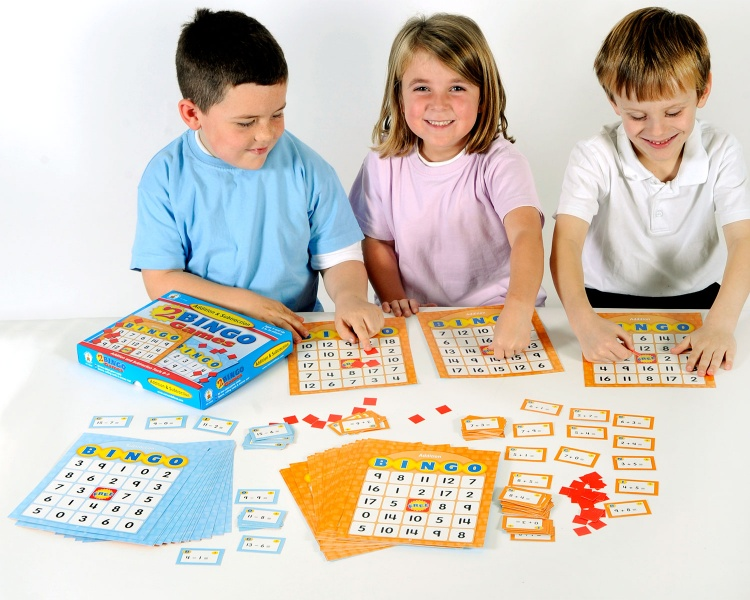 Addition and Subtraction Bingo Board Game
