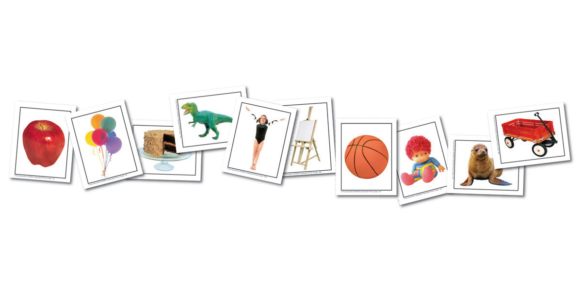 Alphabet Photo Objects Learning Cards