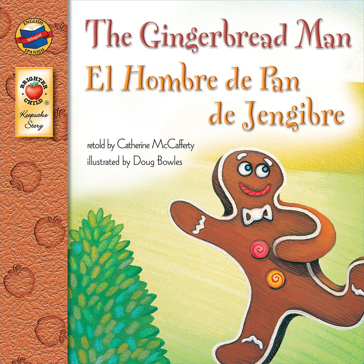 Spanish/English Book - The Gingerbread Man