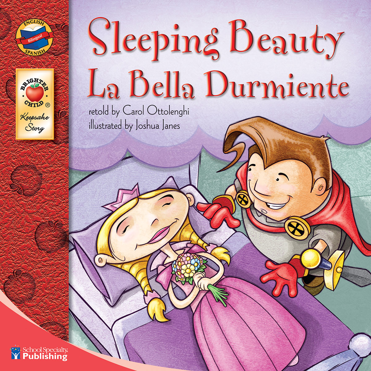 Spanish/English Book - Sleeping Beauty
