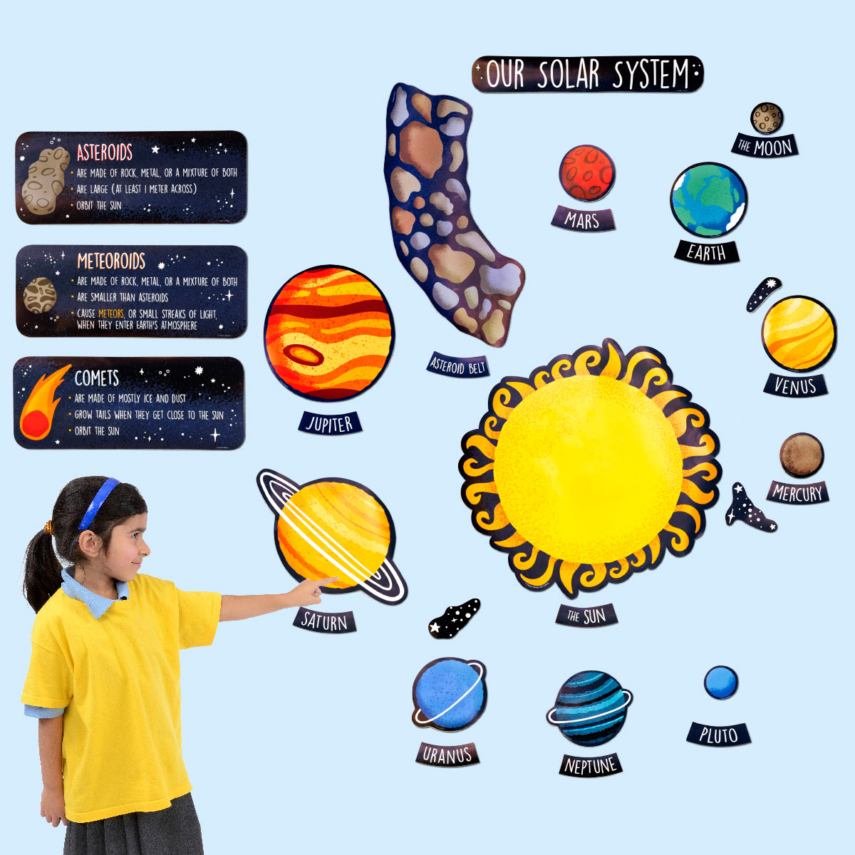 Our Solar System Bulletin Board Set