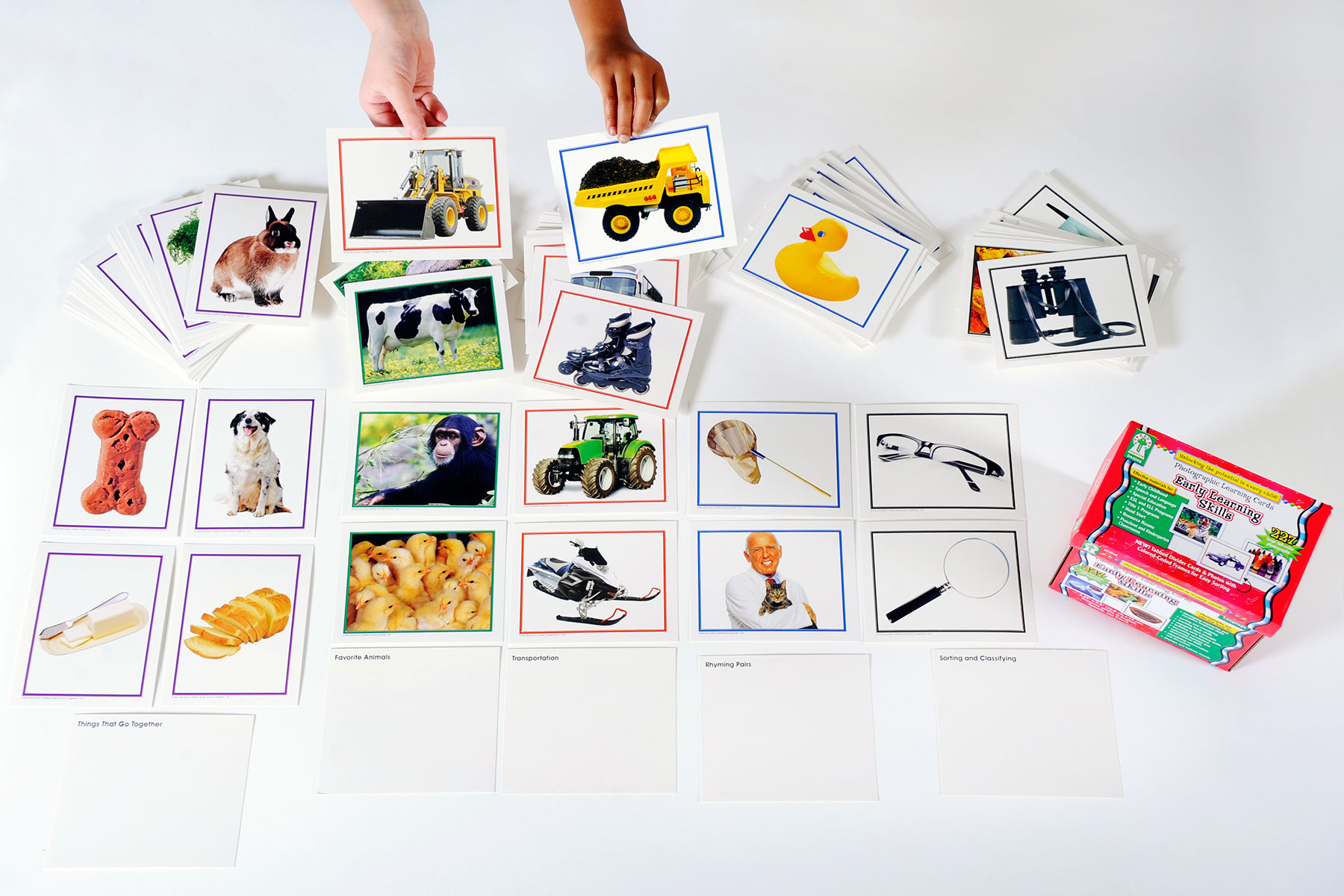 Early Learning Skills Flash Cards