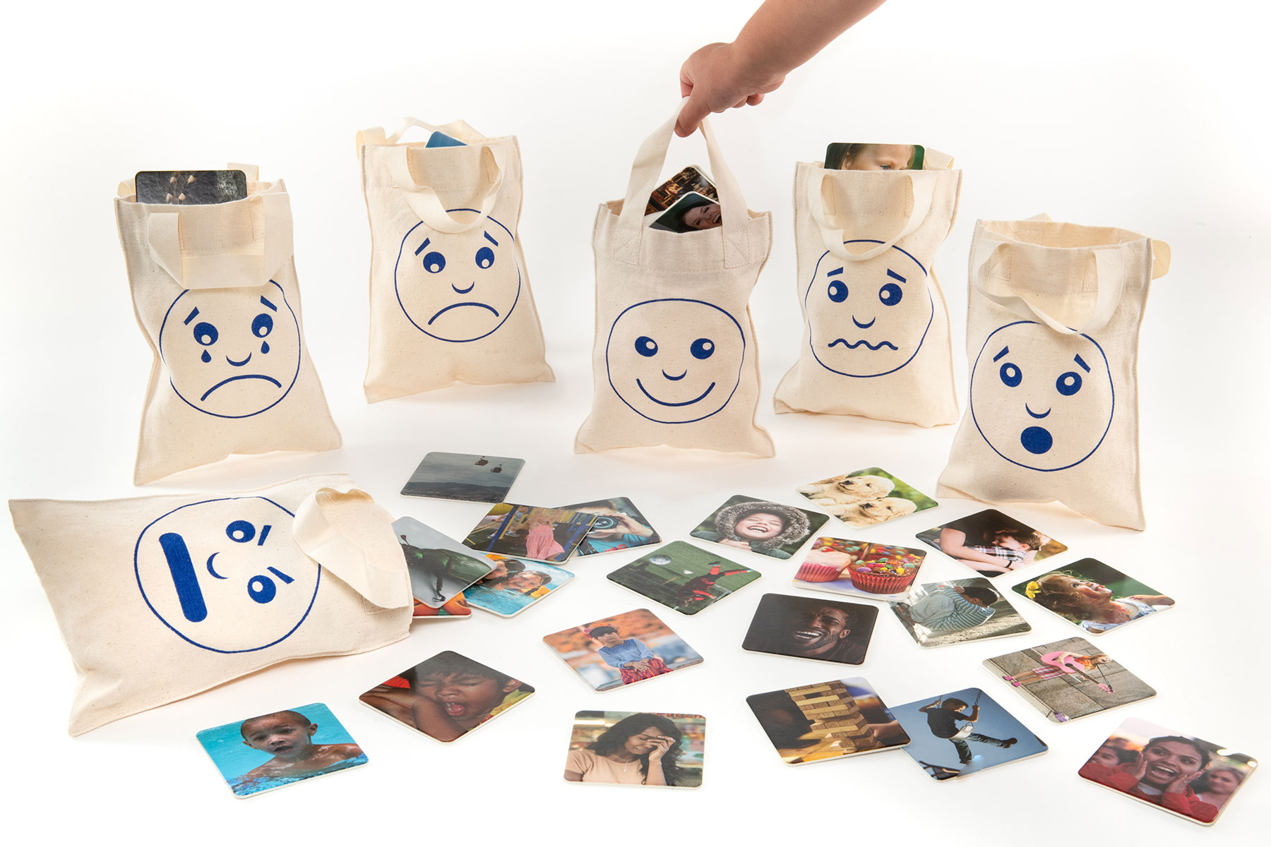 Feelings and Emotions Sorting Bags