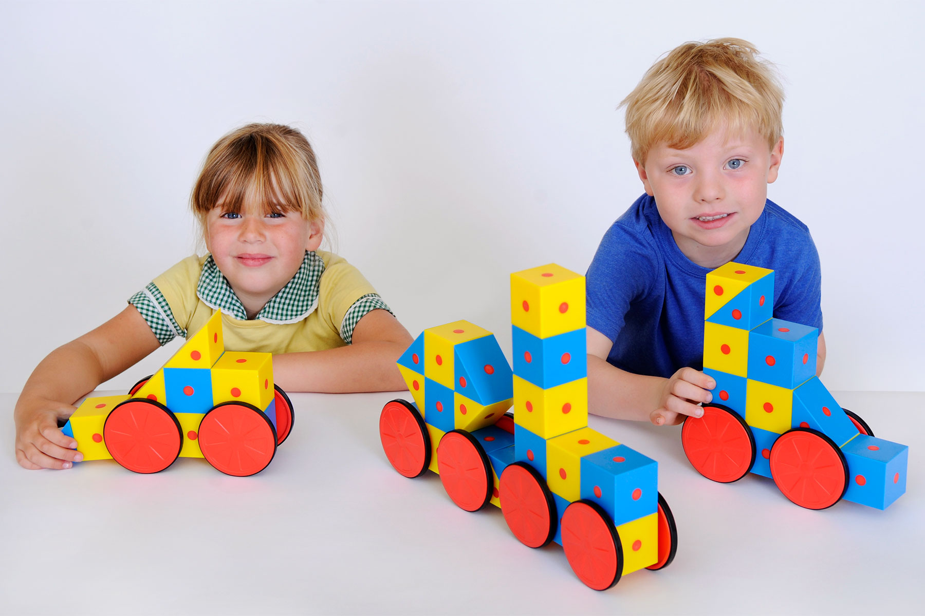 3D Magnetic Blocks Large Set