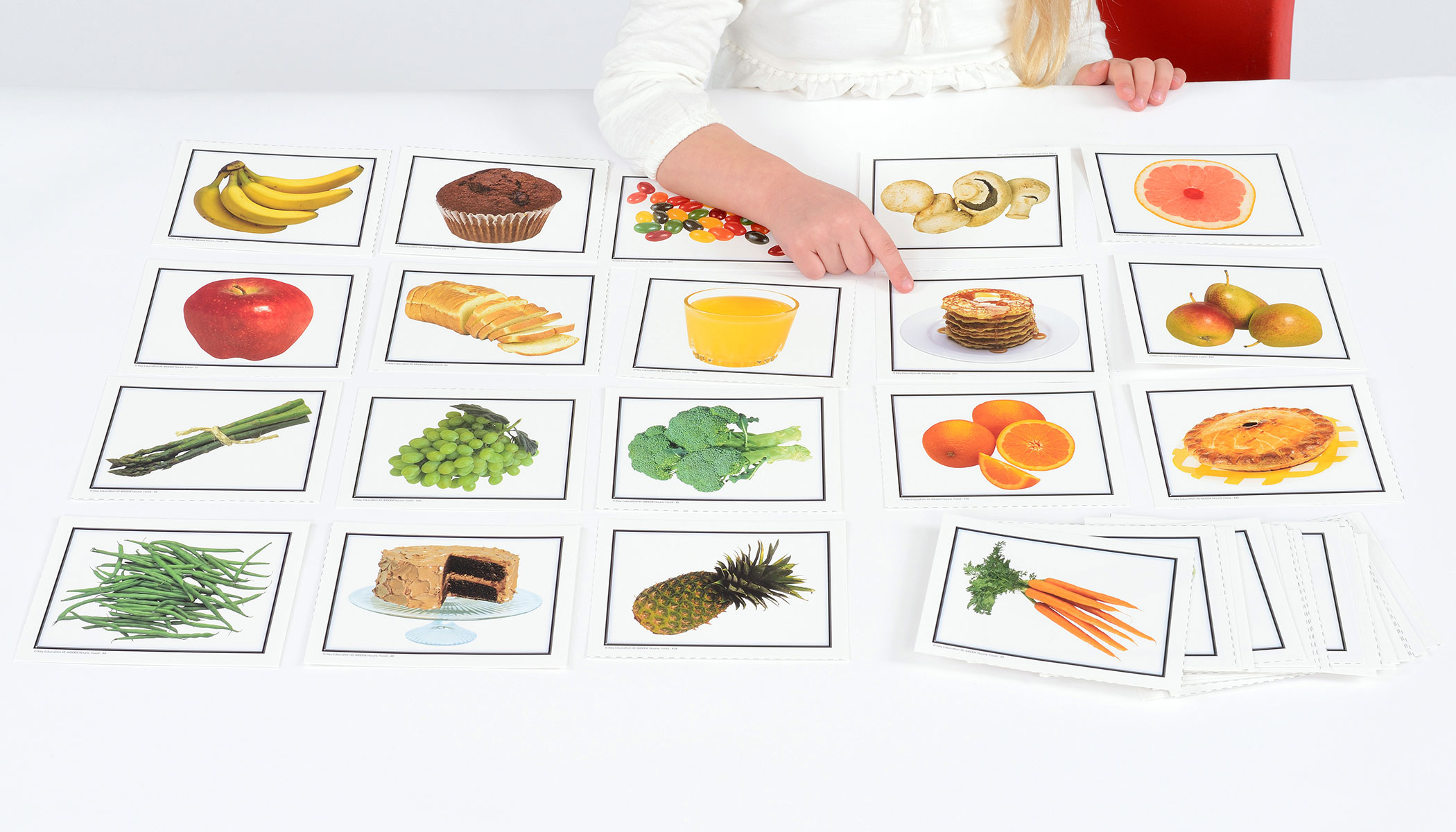 Nouns - Food Learning Cards