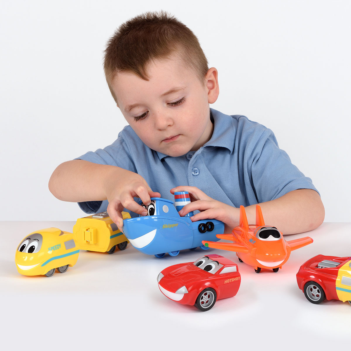 Junior Mix or Match Vehicles