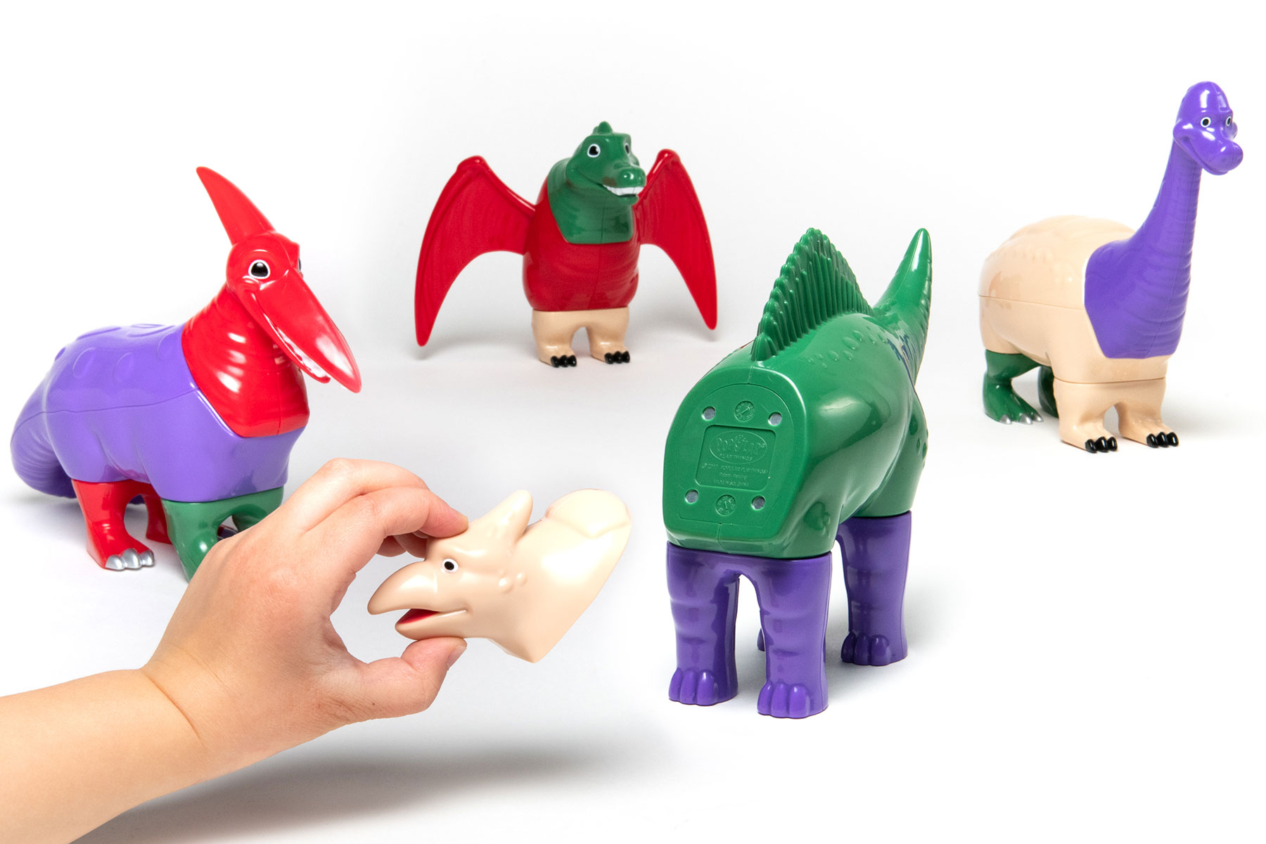 Magnetic Mix or Match Dinosaurs Set 2