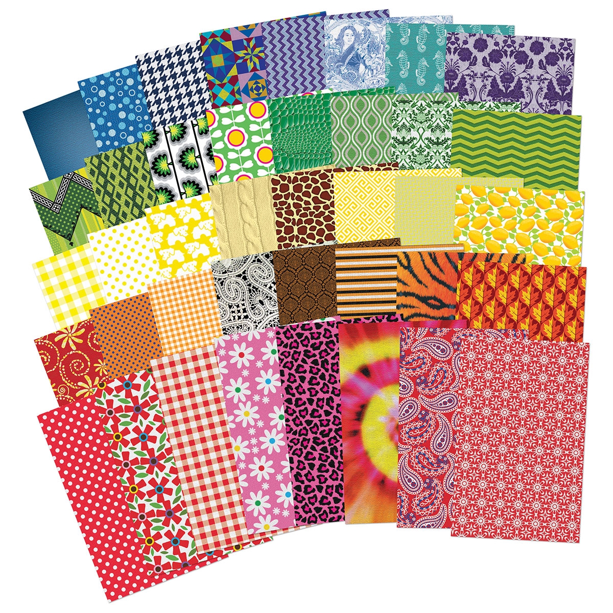All Kinds of Fabric Paper