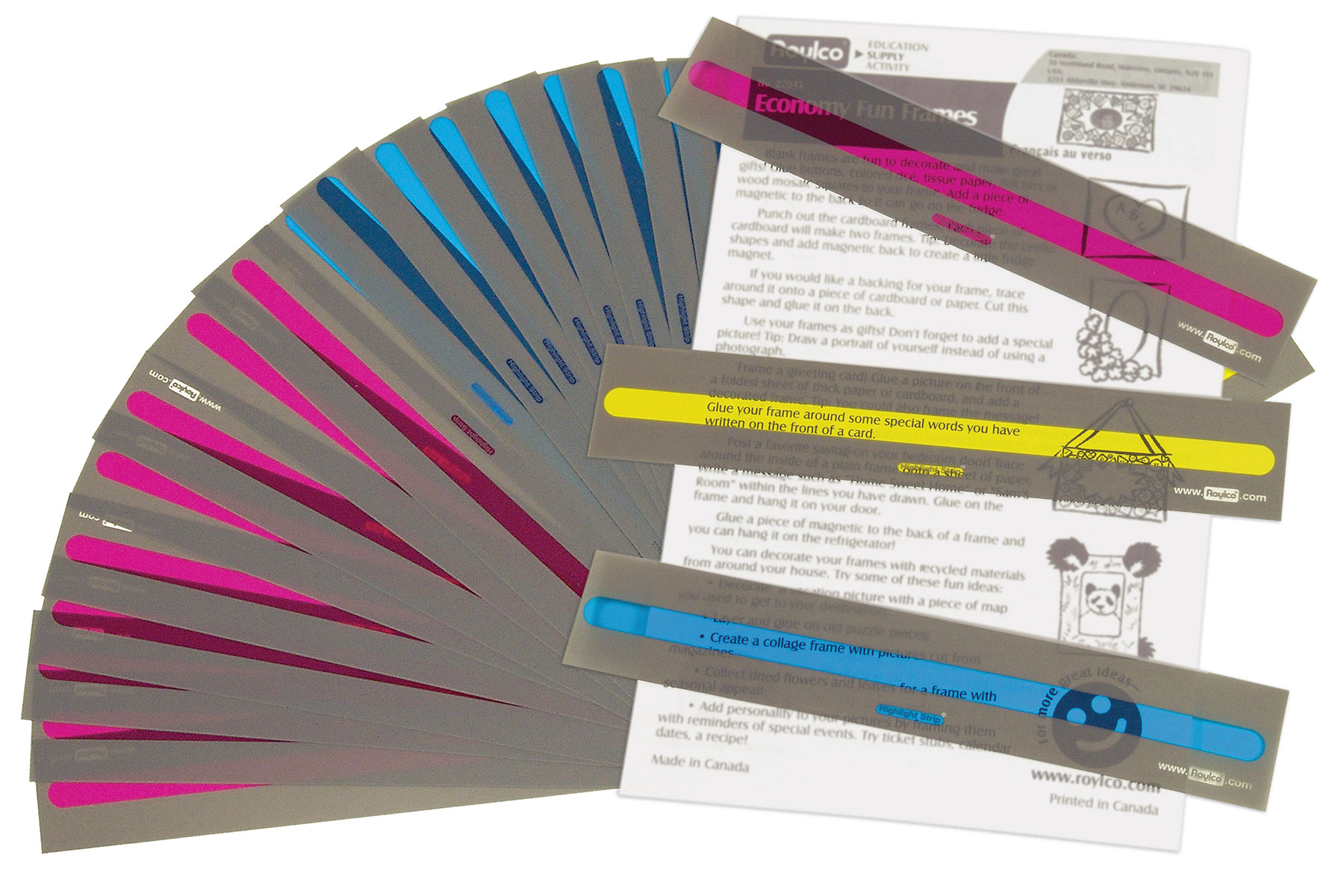 Highlighter Reader Strips