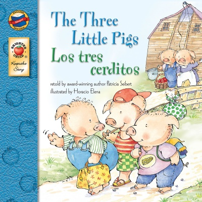 Spanish/English Book - Three Little Pigs