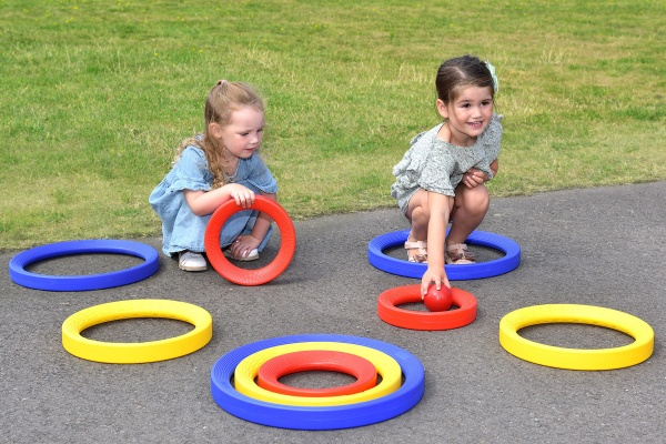 Giant Activity Rings